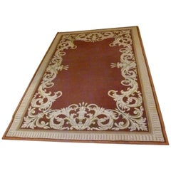 20th Century Hand Knotted Spanish Rug