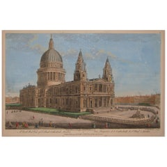 Georgian Print of St. Paul's Cathedral London