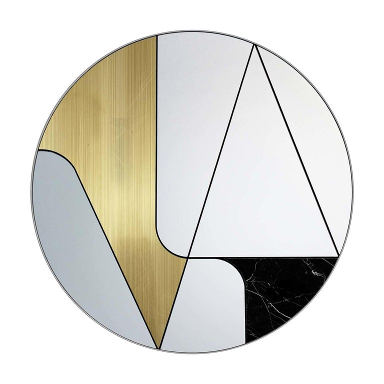 Insula II Mirror by Atlas Project For Sale
