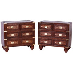 Pair of Anglo-Indian Chests or Stands