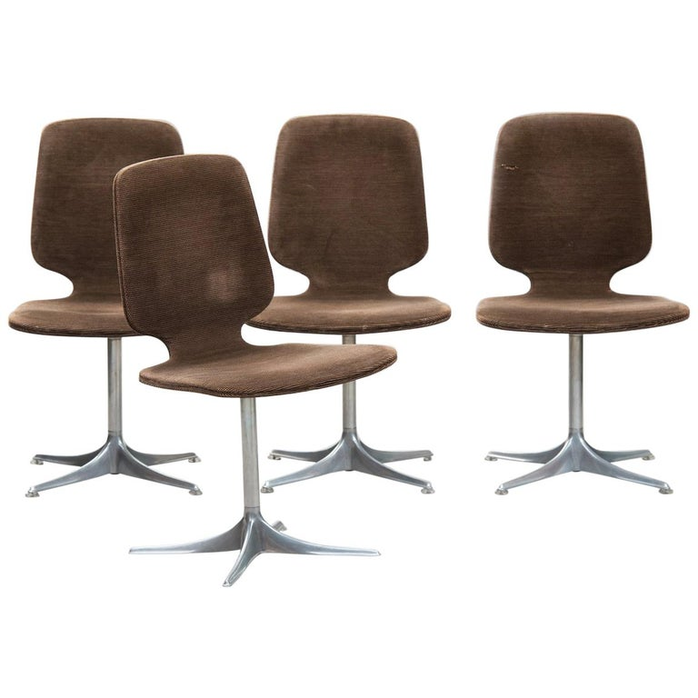 Horst Brüning 'Sedia' Model Dining Chairs for COR For Sale