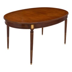 Mahogany Louis XVI Style Antique Dining Table