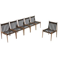 Set of 60 Dining Chairs by Egon Eiermann SE 121, Germany, 1964