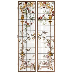 Pair of Renaissance Revival Shutters, France, circa 1900