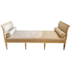 19th Century Swedish Gustavian Style Settee/Daybed