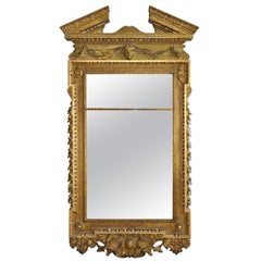 19th Century Georgian Gilt Mirror in Style of William Kent