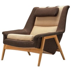 Folke Ohlsson for Fritz Hansen Lounge Chair in Fabric
