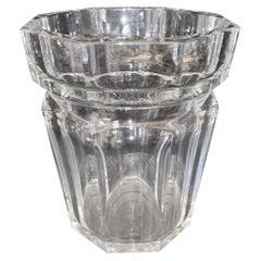 Wonderful French Baccarat Crystal Champagne Ice Bucket Large Vase Centrepiece