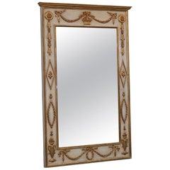 Italian Regency Style Parcel-Gilt Wall Mirror