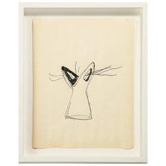"Gio Ponti Sketch ""Disegni per Vasi Incrociatifor"", Italy 1950"