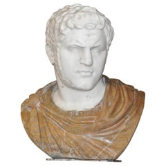 19th Century Marble Bust of the Emperor Caracalla