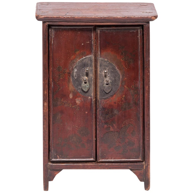 Chinese Miniature Noodle Cabinet For Sale