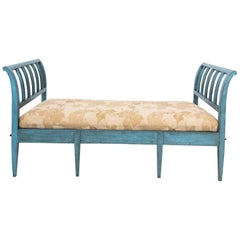 Blue Painted Day Bed
