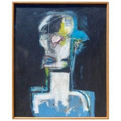 """Midnight"" an Original Oil on Canvas by American Painter Adam Henderson"