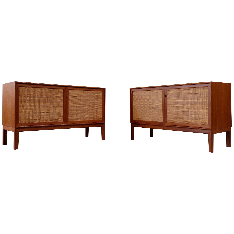 """Set of 2 Alf Svensson """"Norrland"""" Sideboards, 1960s"""
