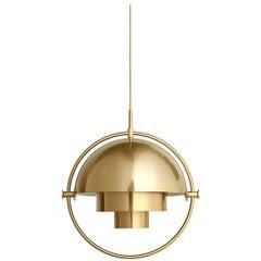 Multi-Lite Pendant, Brass