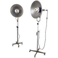 Industrial Midcentury Studio Photography Floor Lamps