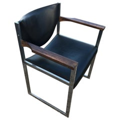 Lübke Leather Armchair