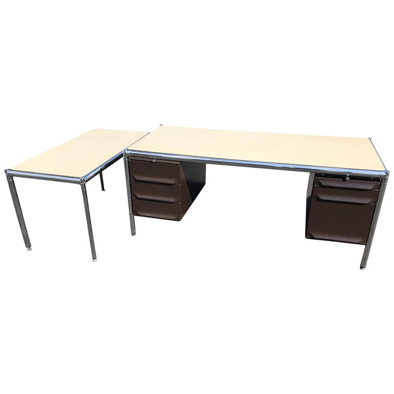 Olivetti Industrial Desk For Sale