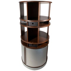 Joe Colombo, Bookcase, Torre Comby Centre, Edition Bernini, circa 1960