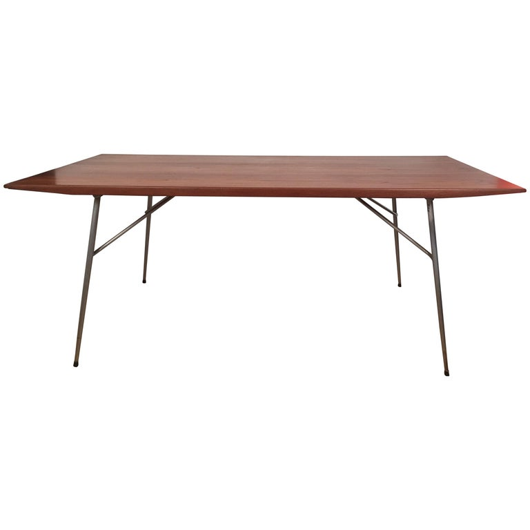 Borge Mogensen Rectangular Teak Dining/Work Table, 1956 For Sale