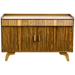 Mid-20th Century Olive Wood Cabinet by Heals of London