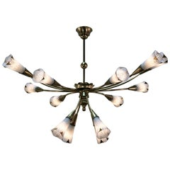 French Midcentury Chandelier by Sevres