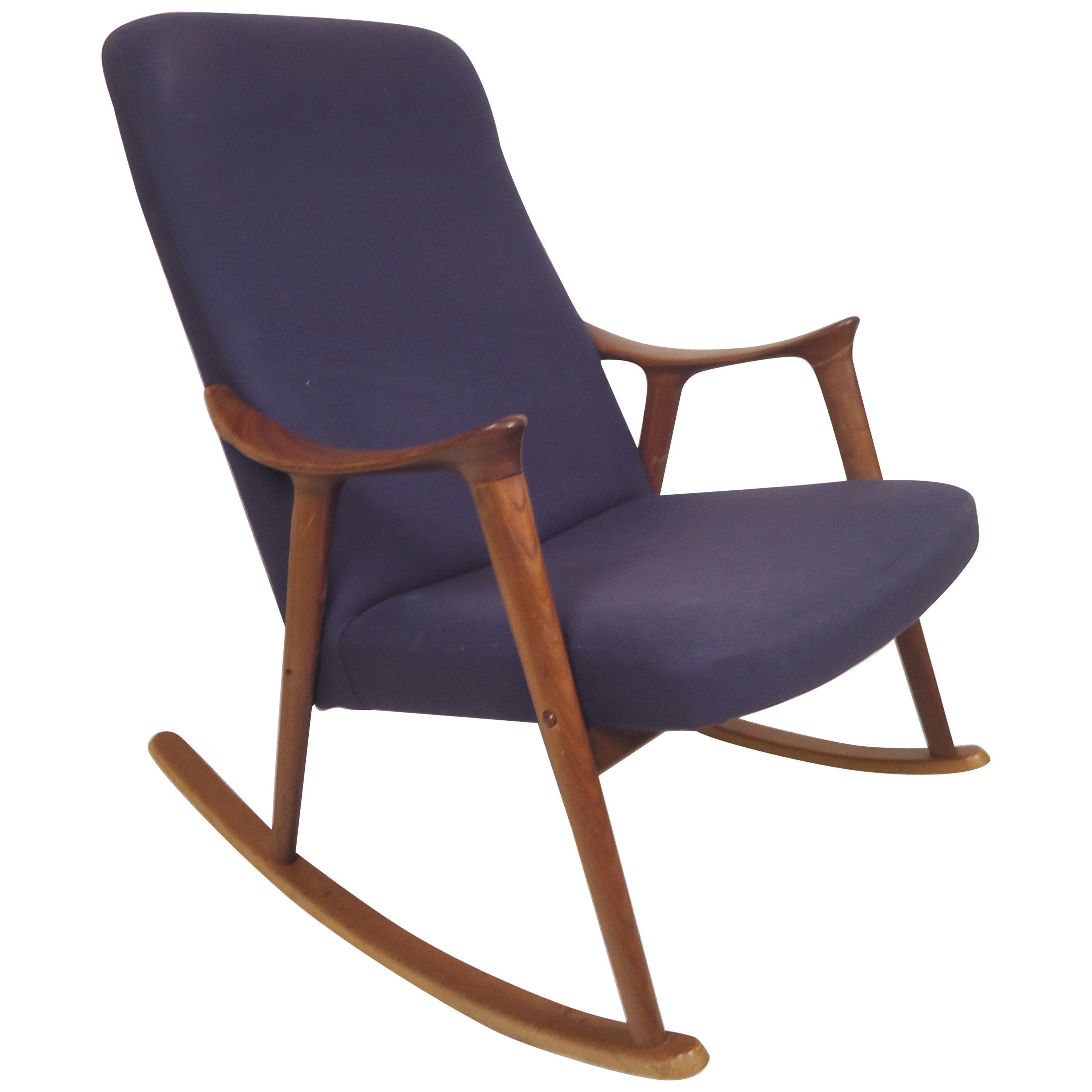 Danish Midcentury Rocking Chair
