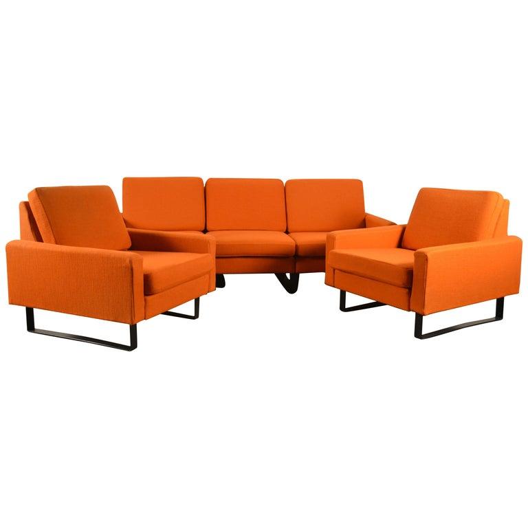 Design set by Friedrich Wilhelm Moller, 1960s For Sale