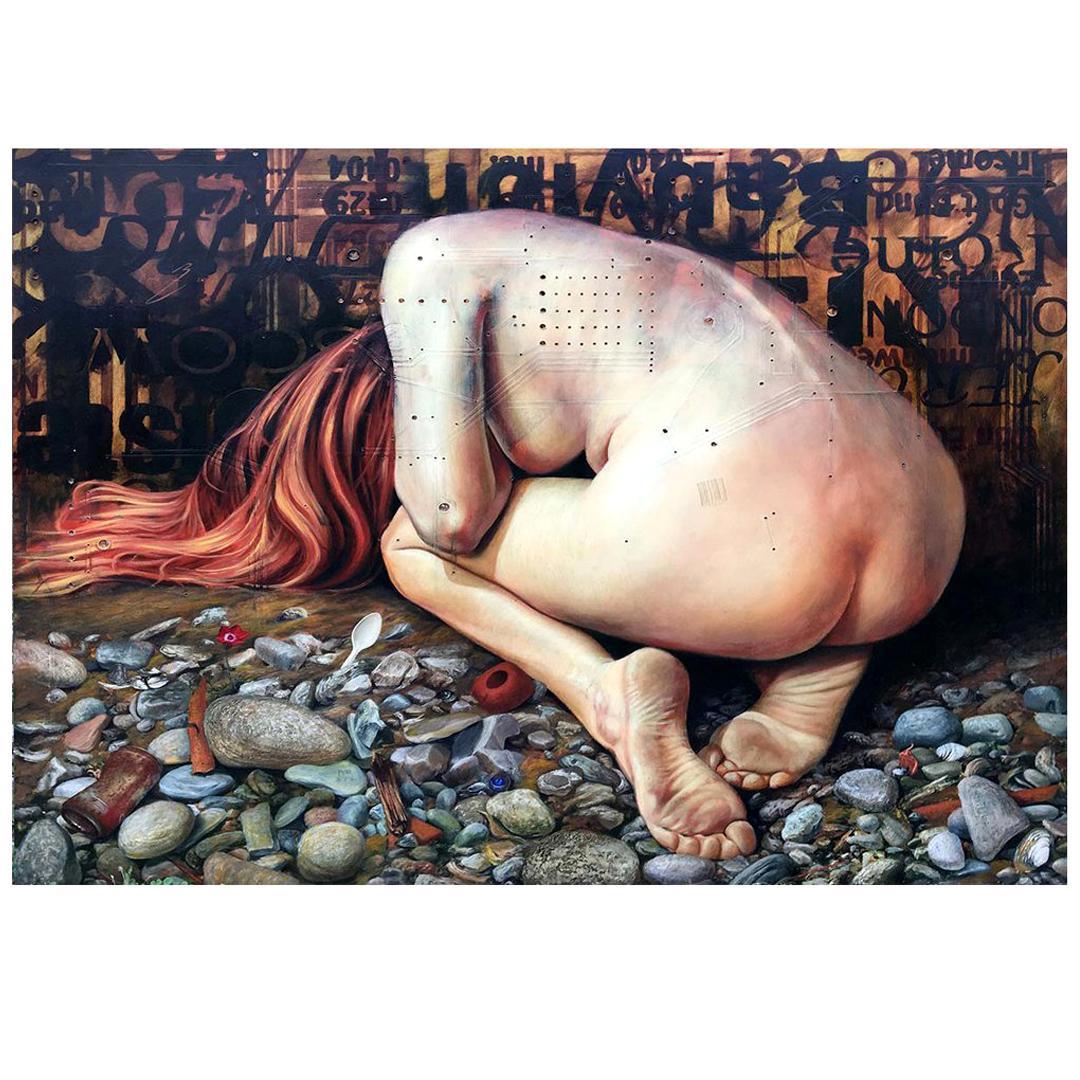 Bruno Capolongo Mixed Media Painting