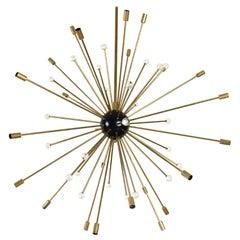 Large Mid-Century Modern Sputnik Chandelier