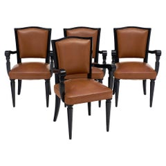 French Art Deco Period Game Chairs