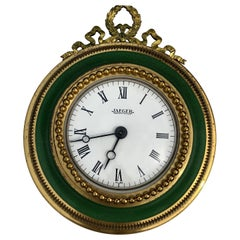 Vintage French Rococo Jaeger Electric Wall Clock Watch, circa 1960s SALE