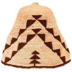 Classical Nez Perce Basketry Hat