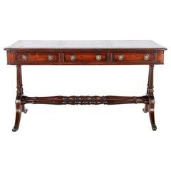 English 19th Century Mahogany Writing Desk
