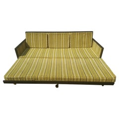 Mid-Century Modern Convertible Sleeper Sofa
