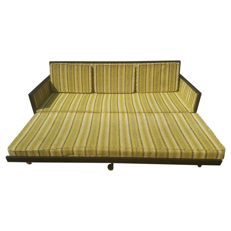 Mid-Century Modern Convertible Sleeper Sofa For Sale at 1stdibs