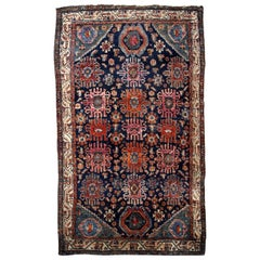 Handmade Antique Malayer Style Rug, 1910s, 1B741