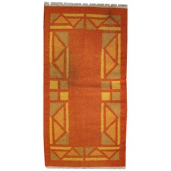 Handmade Vintage Gabbeh Style Rug, 1970s, 1C470