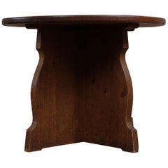 Rare Swedish Side Table or Sofa Table in Pine, 1940s
