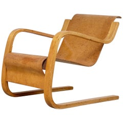 Rare Alvar Aalto Armchair No. 31, Early Example, circa 1934