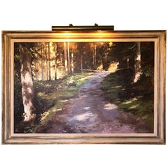 Gorgeous Landscape by Famous British Painter James Hart Dyke