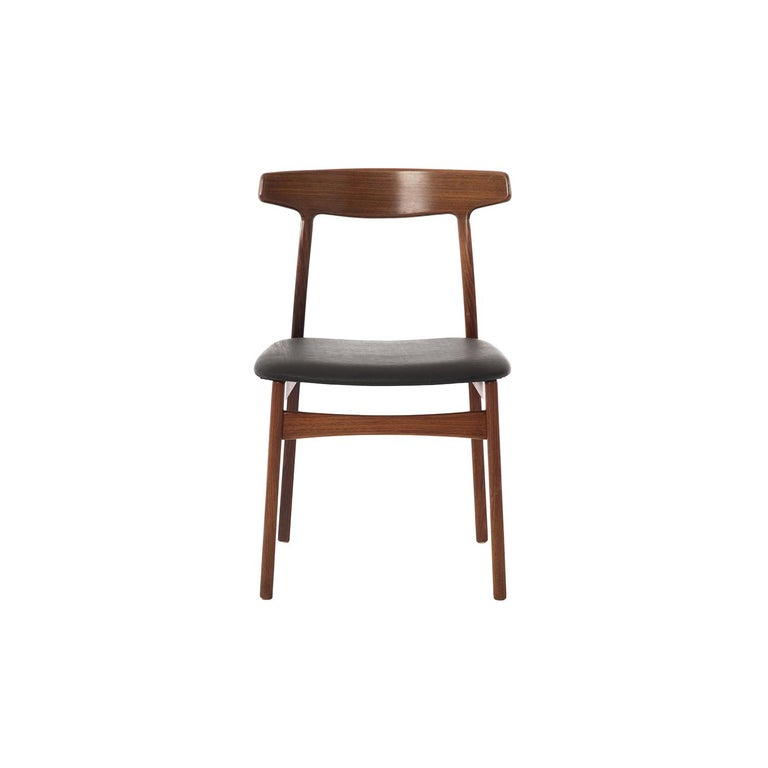 Danish Modern Rosewood Side Chair For Sale