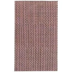 Pink Geometric Modern Rug