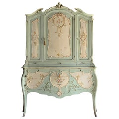 19th Century French Louis XV Cabinet Commode, France, circa 1890