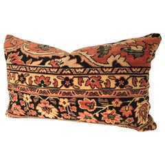 Custom Pillow by Maison Suzanne Cut From an Antique Mohair Textile, Netherlands