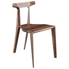 Nordic Dining Room Chair in Walnut or Oak