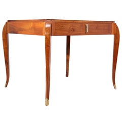 Art Deco Walnut Writing Table