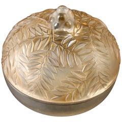 """Rene Lalique Box """"Vallauris"""""""