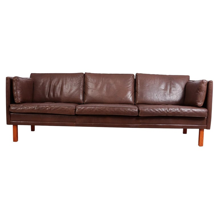 Mid-Century Modern Danish Sofa at 1stdibs
